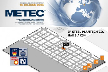 JP Steel Plantech In METEC2015